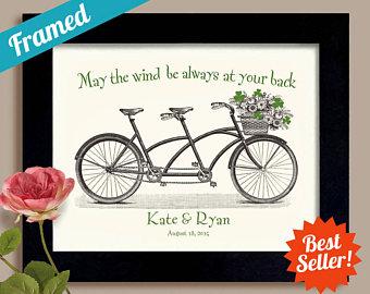 Pushbike clipart double Ireland Bicycle Etsy Shamrock Gift