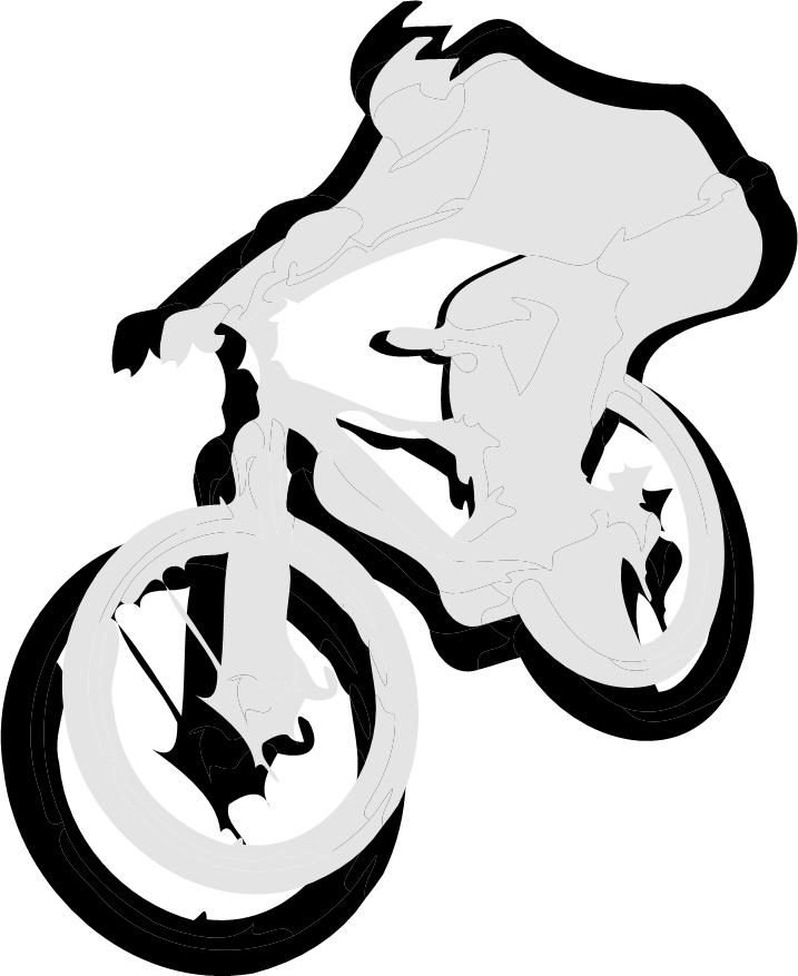 Pushbike clipart downhill Clip Reviews for Amateur Tutorials
