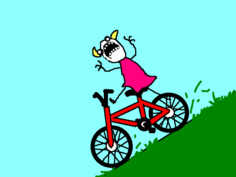 Pushbike clipart downhill Free official Visual Arts the