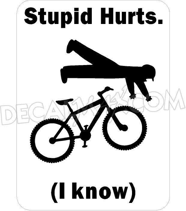 Pushbike clipart downhill 49 Bike Funny Mountain bike