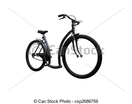 Bike clipart front view Front isolated moto isolated 01
