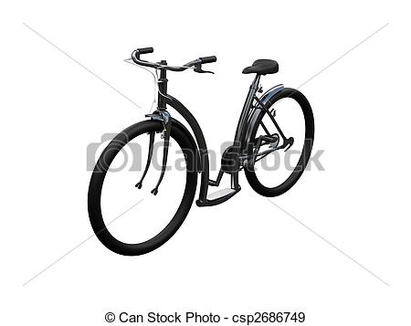 Bike clipart front view Front isolated moto isolated 02