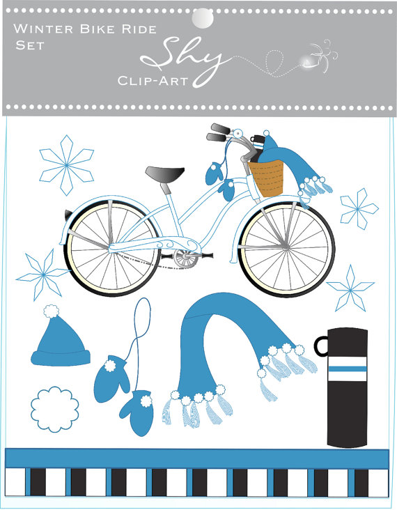Pushbike clipart momentum Clipart Bicycle Clipart ShyClipArt $5
