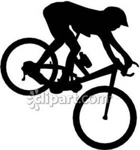 Bike clipart mountain biking Riding Pin  Clip Man