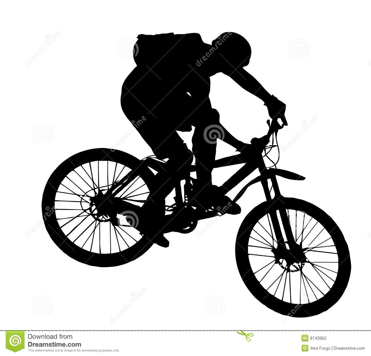 Bicycle clipart downhill Biker Mountain clipart Downhill Collection