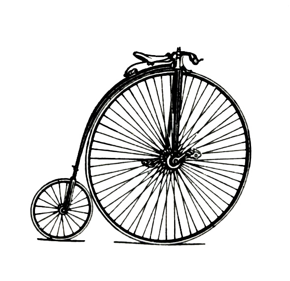 Bicycle clipart old fashioned Clipart Clipart Tiny Bicycle Bicycle