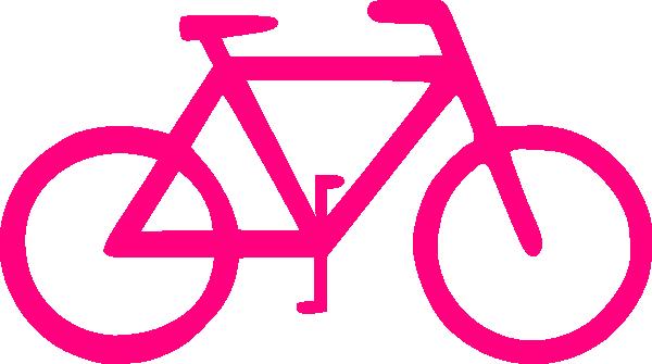 Bicycle clipart pink bike Online Art com art clip