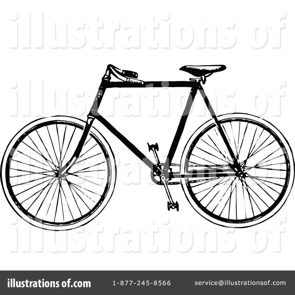 Bike clipart retro bike #1