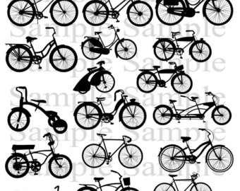Bicycle clipart retro bike Art Bike Vintage bicycle bike