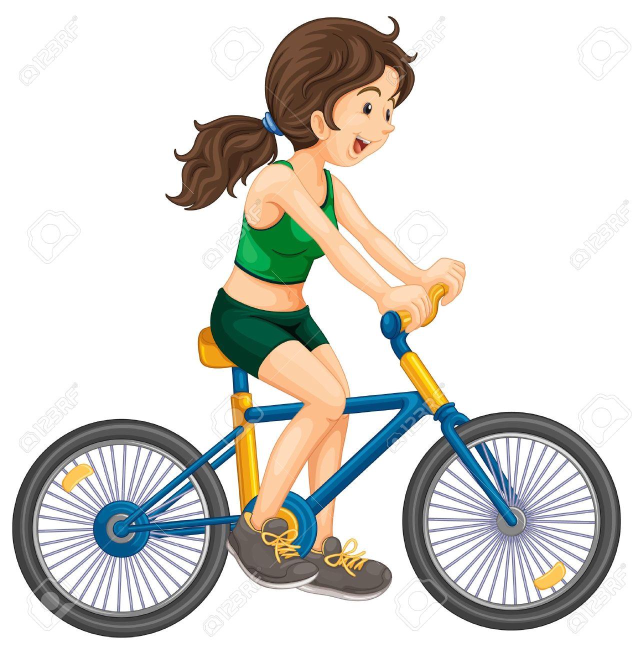 Biker clipart stationary bike Bikes Bike Riding Riding Clipart