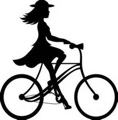 Biker clipart riding bicycle Love Tandem Cricut and riding