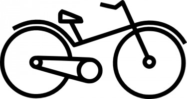 Bike clipart vector Free images clip bicycle art