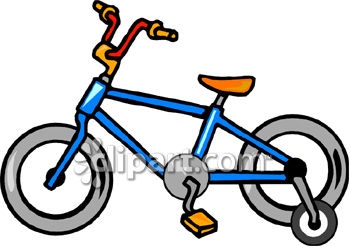 Pushbike clipart training wheel With Training bike training Clipart