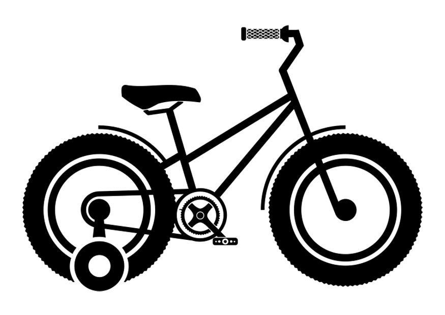 Pushbike clipart training wheel Large training Download image img