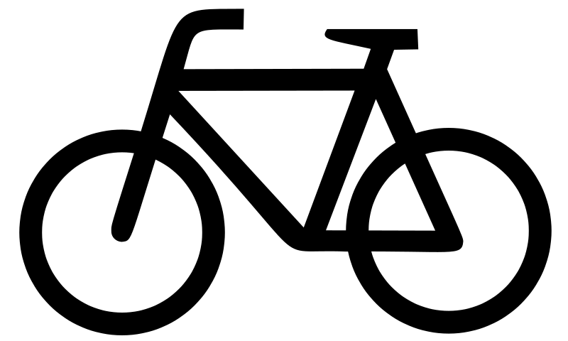 Biker clipart cycle Large Download Clip Bicycle Page