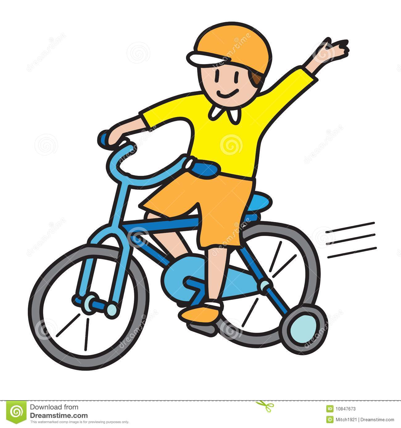 Bicycle clipart montar Clipart bike Boy clipart push