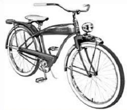 Pushbike clipart vintage bicycle Bicycle Free Bicycle old Clipart