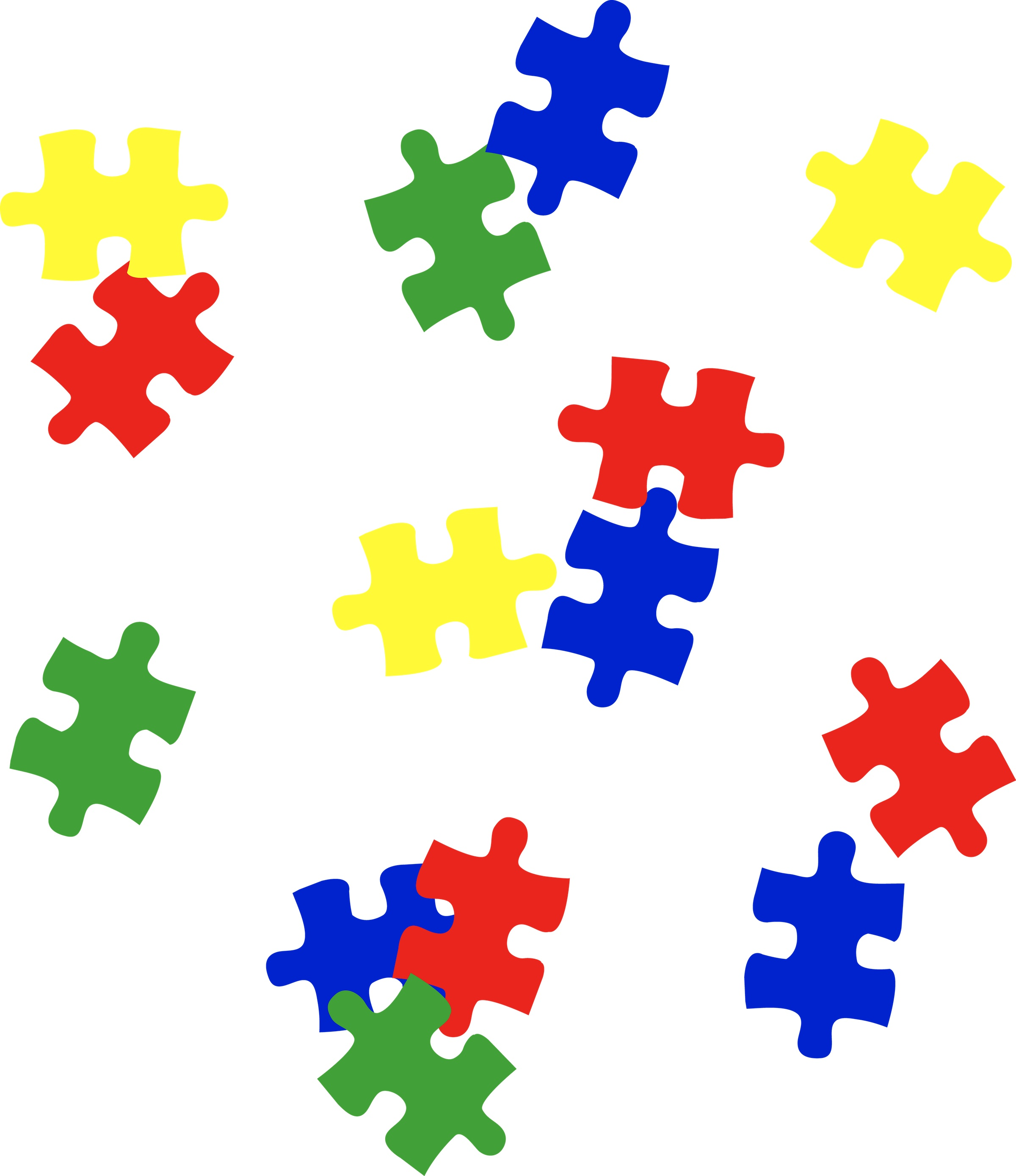 Puzzle for pieces puzzle of