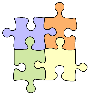 Puzzle clipart Image free the for pieces