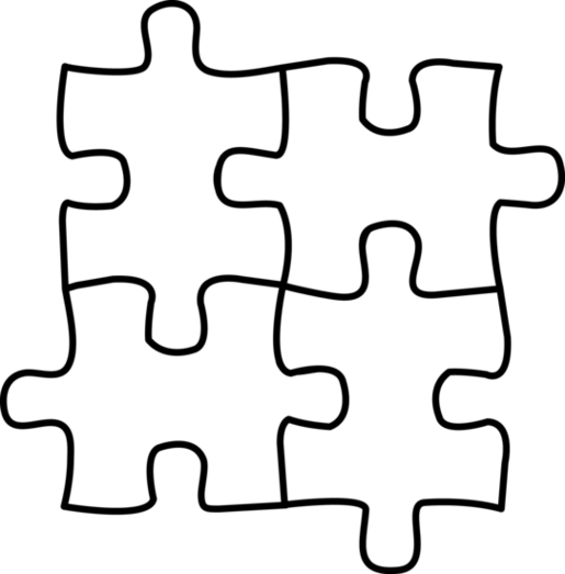Puzzle clipart building a Art puzzle art use to