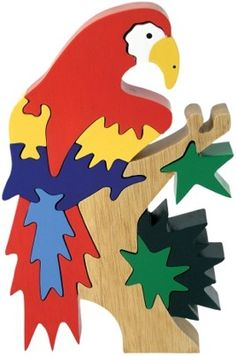 Puzzle clipart bird Puzzle Puzzle Wooden Parrot Puzzle