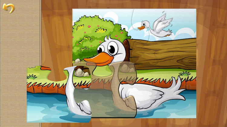 Puzzle clipart bird Draw Game Cartoon for Puzzle