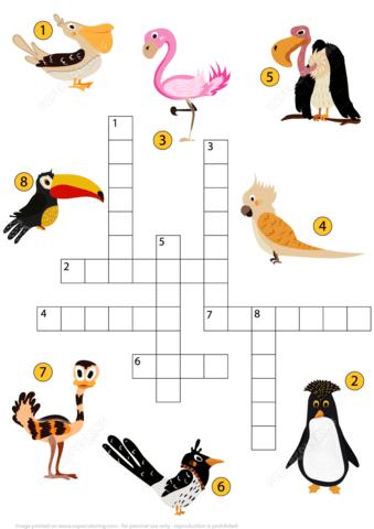 Puzzle clipart bird #9