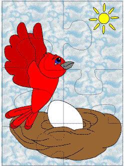 Puzzle clipart bird #4