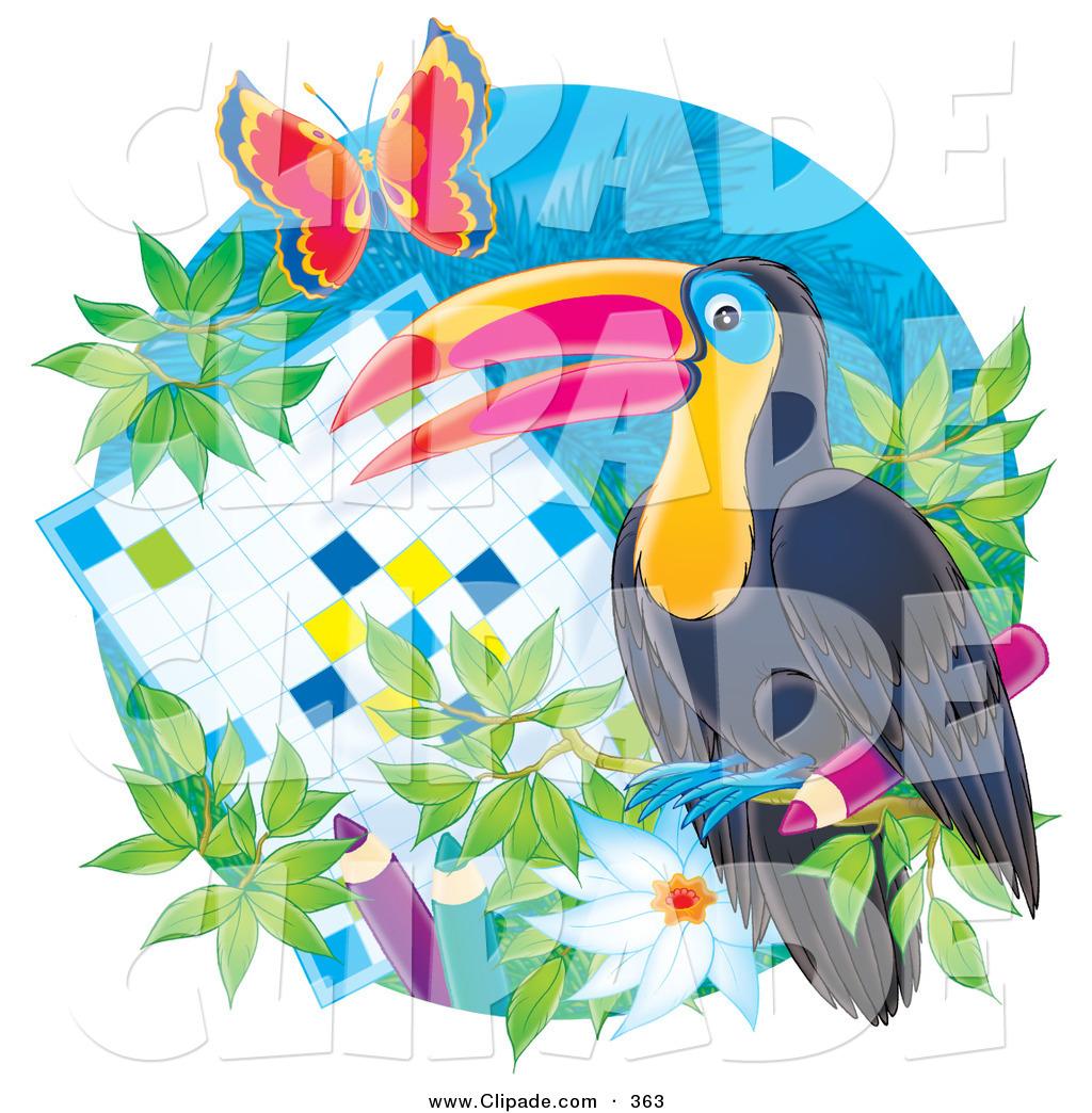 Puzzle clipart bird #5