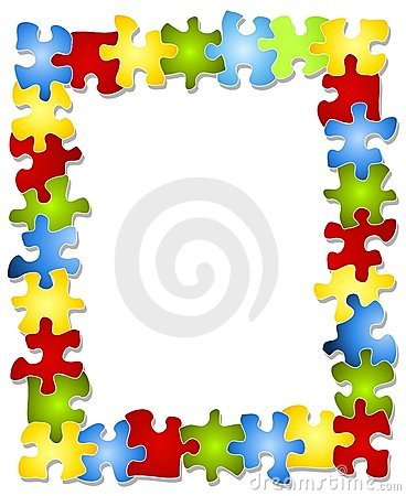 Puzzle clipart border clipart Clip Free Puzzle Royalty Colorful