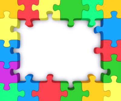 Puzzle clipart border clipart Clipart Clipartix art puzzle art