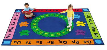 Carpet clipart alphabet Carpet Read  Classroom Lakeshore