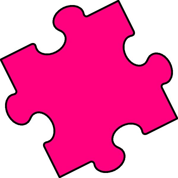 Puzzle 3 template piece puzzle