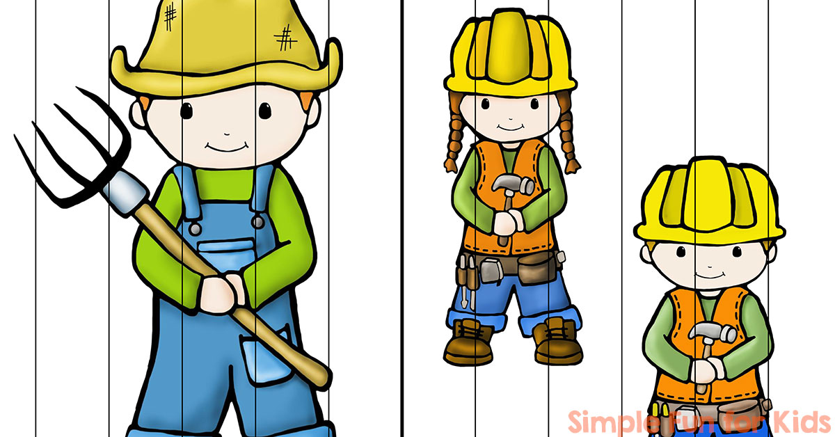 Community clipart puzzle For Simple Word Helpers Puzzles