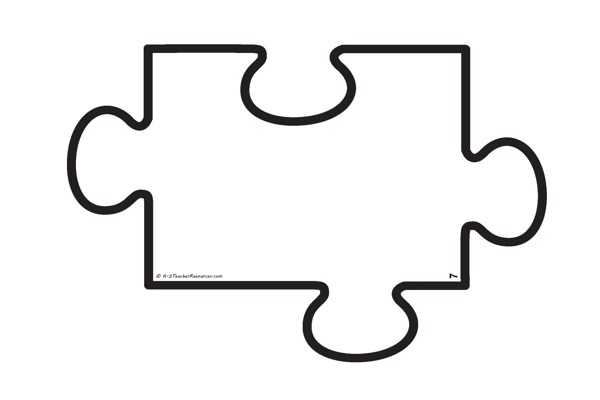 Puzzle clipart empty 3 Download Blank Template Puzzle