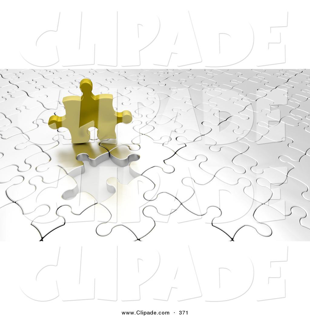 Puzzle clipart empty Gold Puzzle Puzzle Piece a