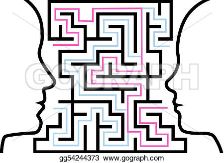 Puzzle clipart face Art other maze Drawing Vector