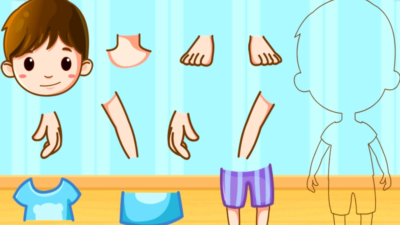 Puzzle clipart fun learning & Body The Our Learn