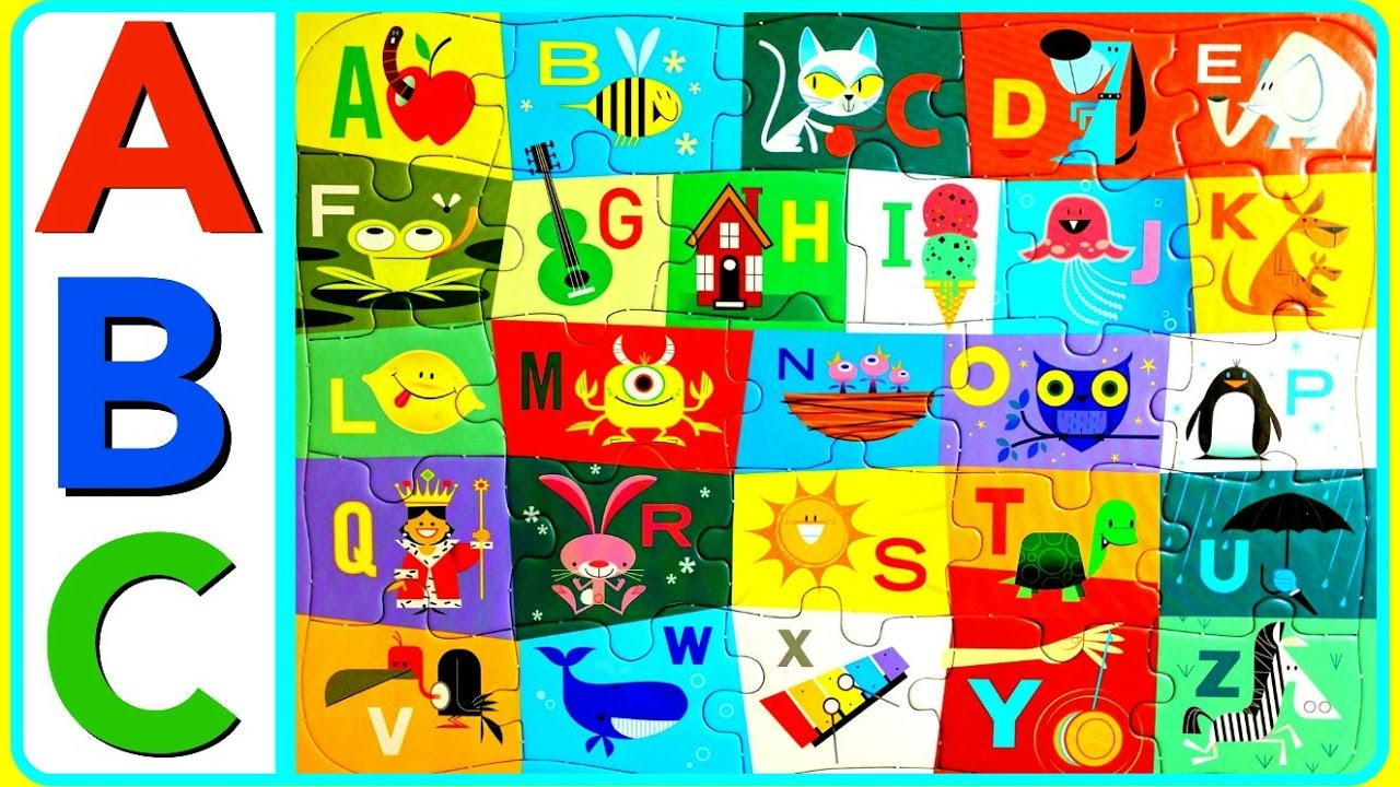 Puzzle clipart fun learning ABC  ABC Learn FUN