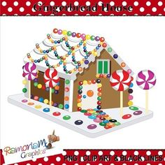 Puzzle clipart house outline House get this Jigsaw gingerbread