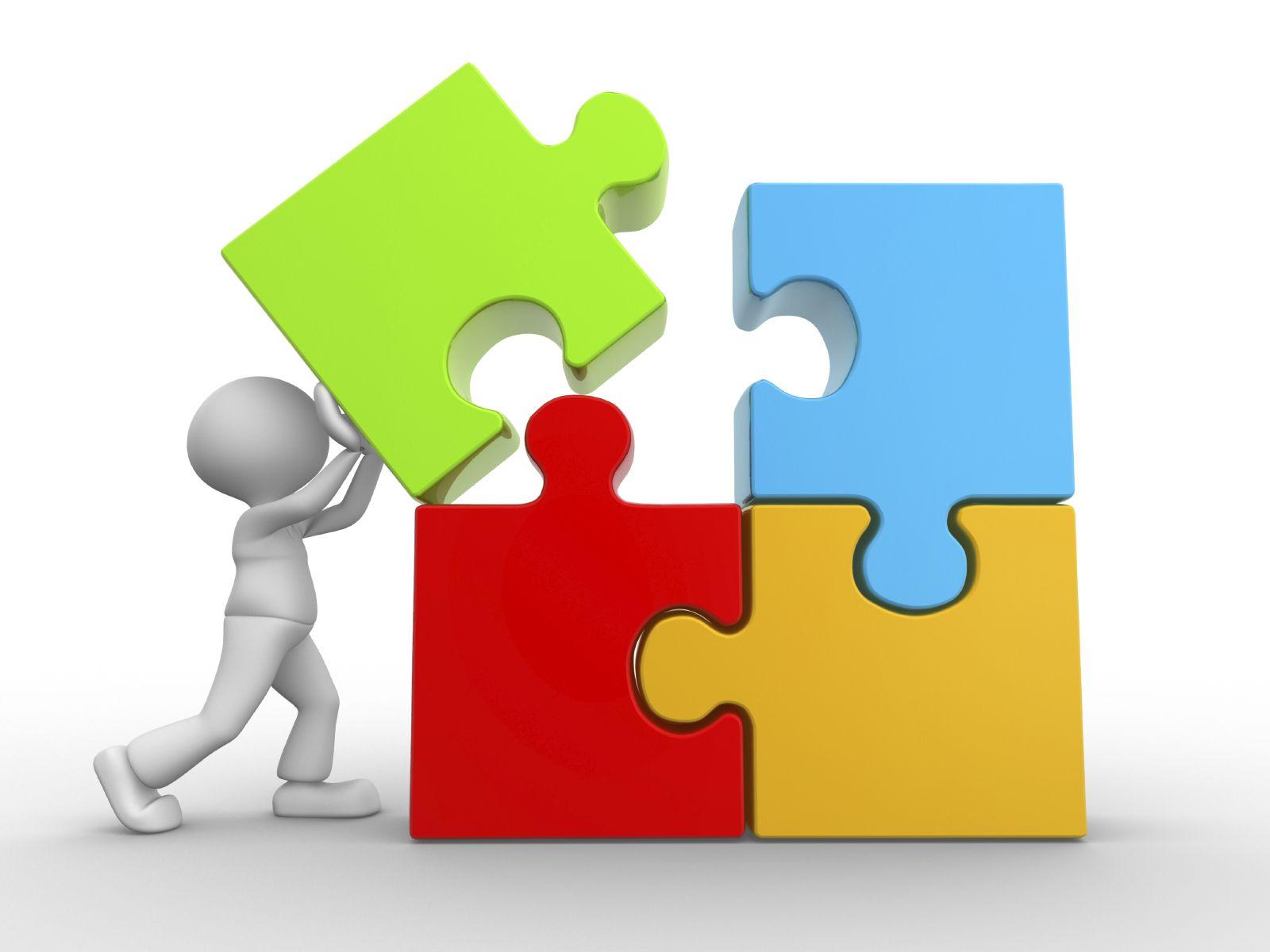 Puzzle clipart organization skills #4