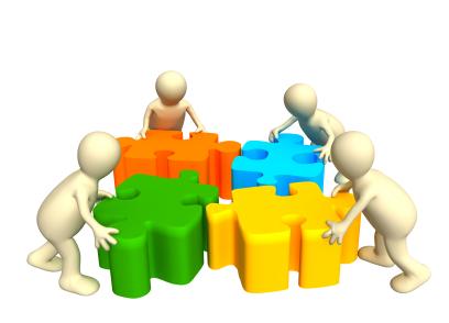 Puzzle clipart organization skills #14