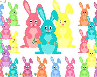 Pastel clipart bunny Bunny Bunnies Easter Easter Scrapbook