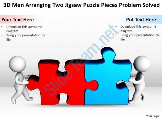 Puzzle clipart presentation outline #3