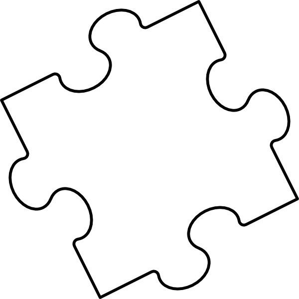 Puzzle clipart presentation outline Template Sample Create 3 Jigsaw