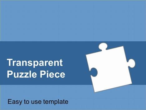 Puzzle clipart presentation outline #4