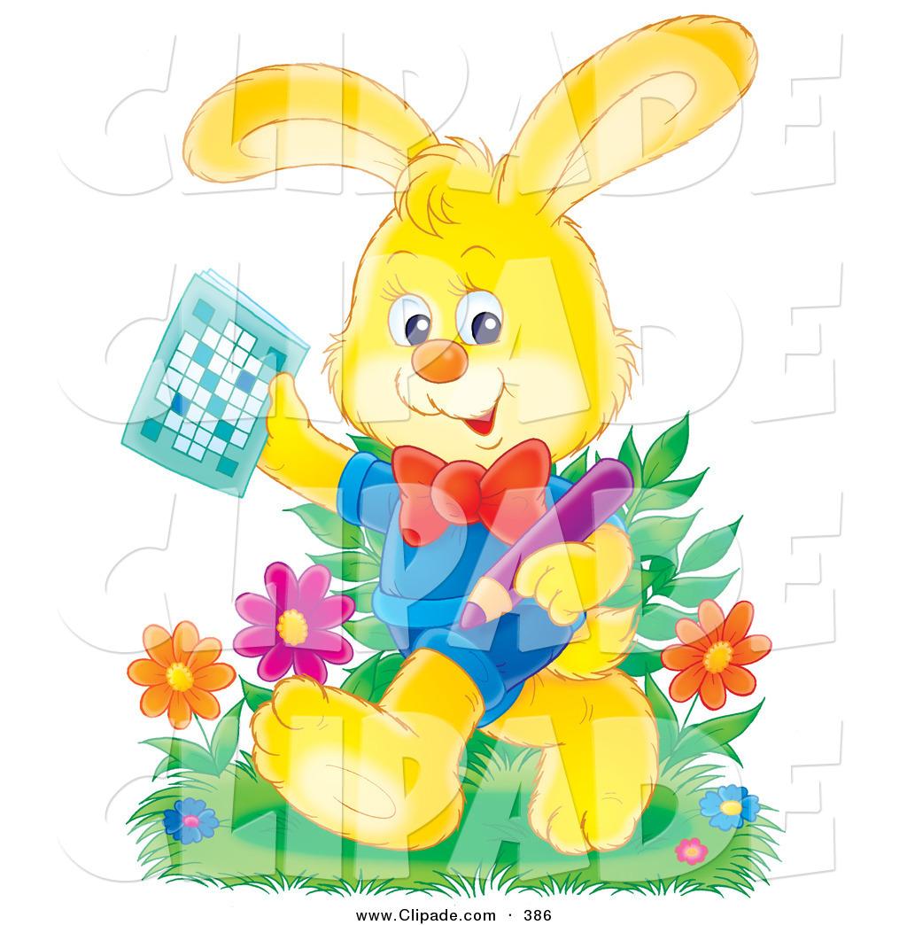 Puzzle clipart rabbit #1