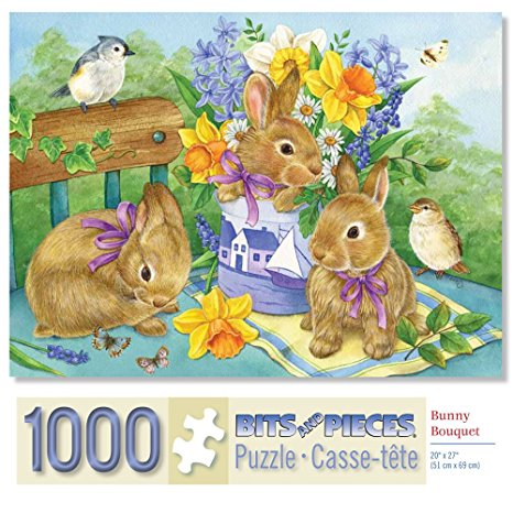 Puzzle clipart rabbit 1000 Bits by and Rabbit