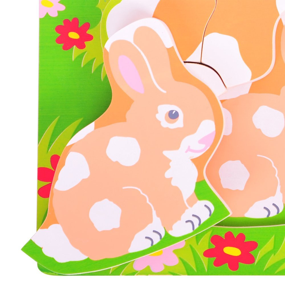 Puzzle clipart rabbit #6