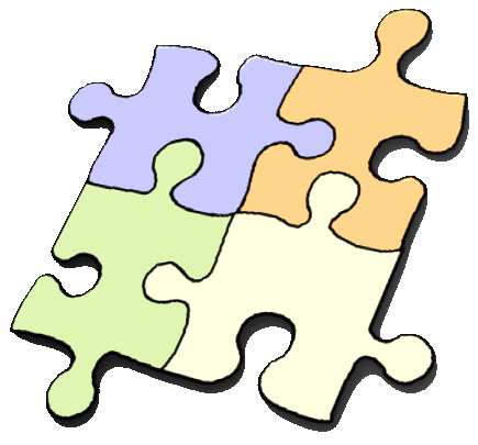 Toy clipart puzzles #3